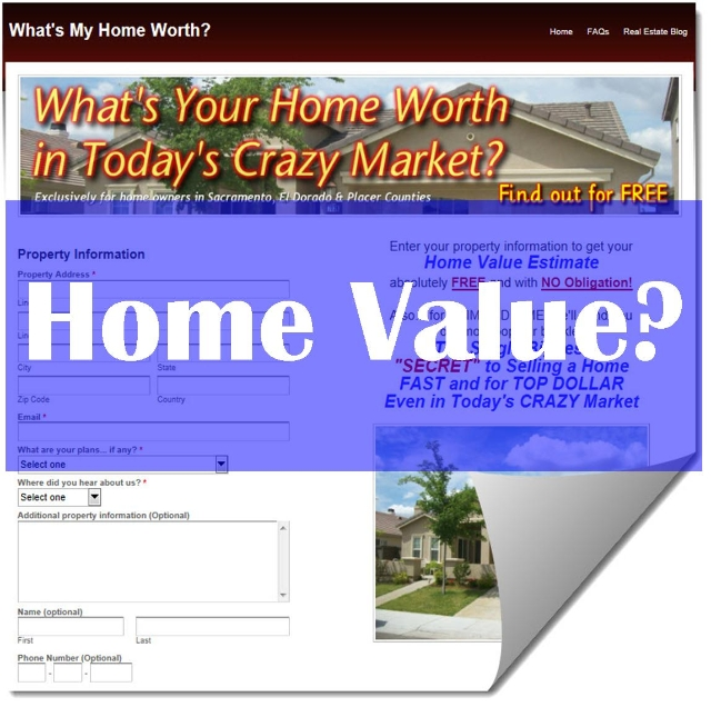 Click here to find out your home's value