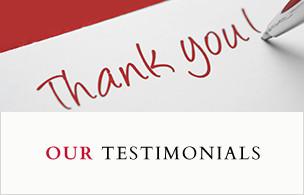 our testimonials