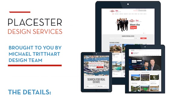 MichaelTritthart.com Design Services for Placester. Placester Site Enhancements