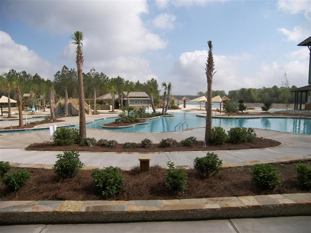 New Pool Complex At Hampton Lake