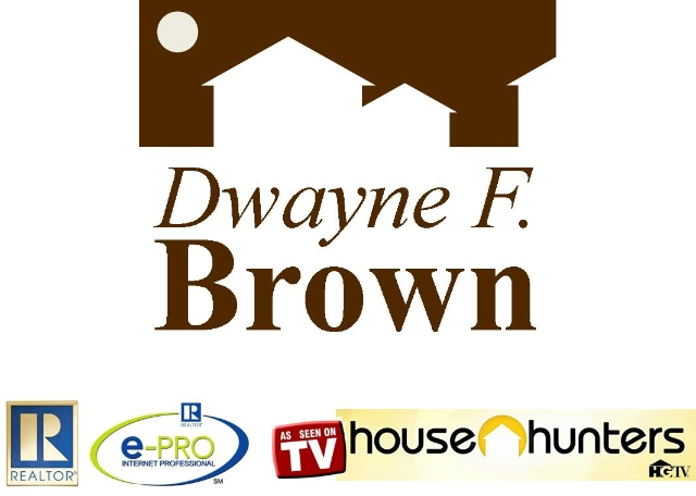 Dwayne F. Brown, REALTOR, ePRO, appreared on HGTV's House Hunters