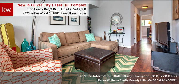 4923 Indian Wood Road unit #481, Tara Hill Culver City