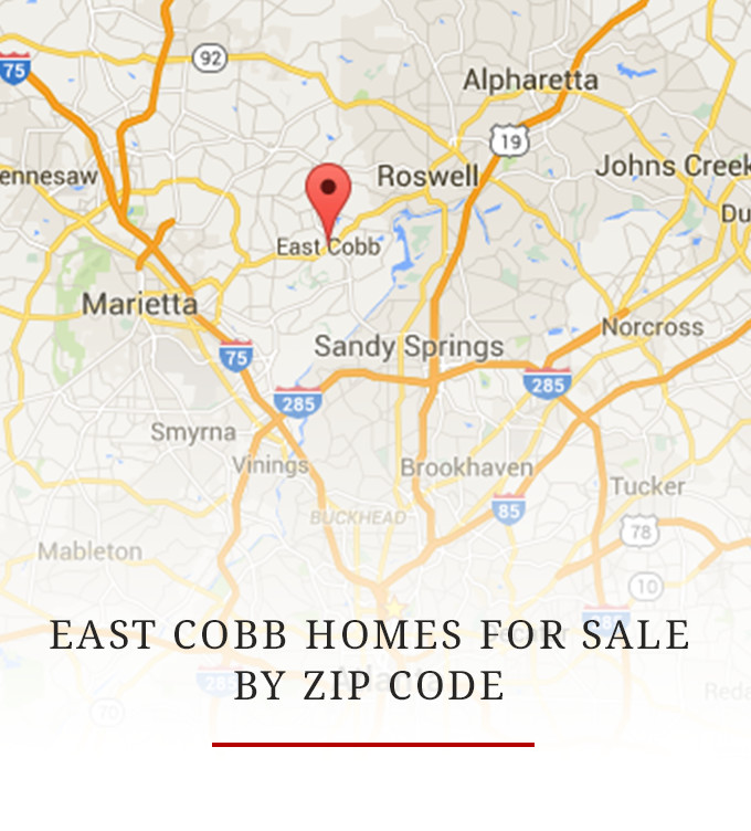 EAst Cobb For Sale By Zip Code