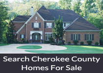 Cherokee County GA homes for sale
