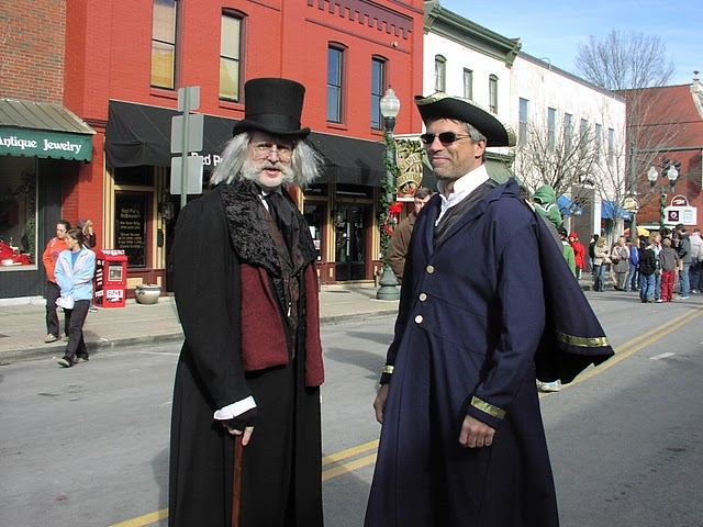 Dickens Fair in the historic downtown of Franklin, TN | Favorite ...