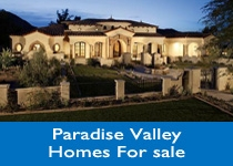 Paradise Valley AZ homes for sale