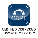 Patrick Lopez and Associates are Certified Distressed Property Experts!