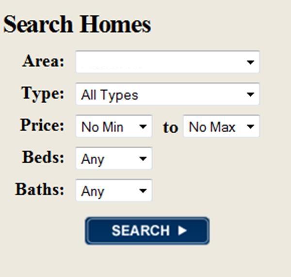Search Houston/Galveston Area Properties