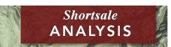Shortsale Analysis