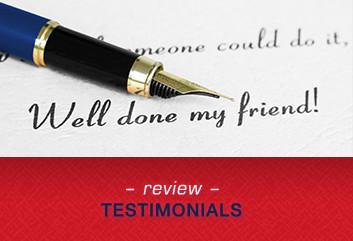 review testimonials
