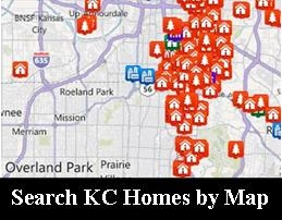 Search Kansas City Area Properties by Map