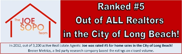 Ranked in Top 5 Realtors of Long Beach!