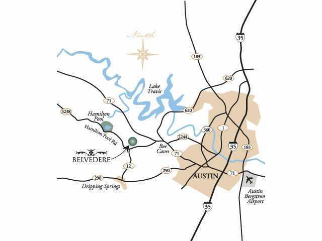 Belvedere Map