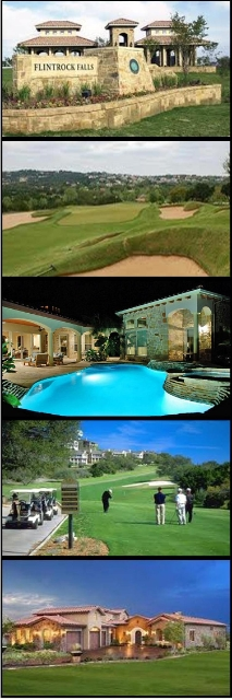 Flintrock Falls In Lakeway...a Gated Golf Community!  Click Here for Golf Course Homes!