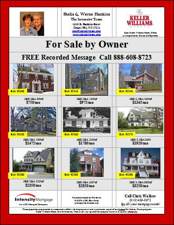 our website promoting For Sale by Owner homes for sellers participating