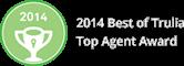 2014 Best of Trulia Top Agent Award