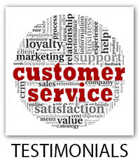 Testimonials and Client Reviews for Clear Lake, Seabrook, El Lago, League City, Kemah, Friendswood and surrounding areas