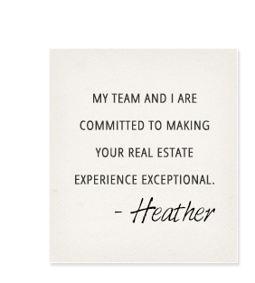 My team and I are committed to making your Real Estate experience exceptional.