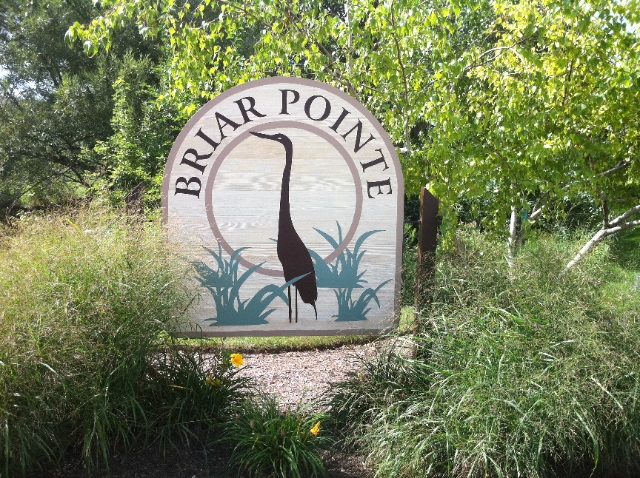 Briar Pointe Schaumburg Sign
