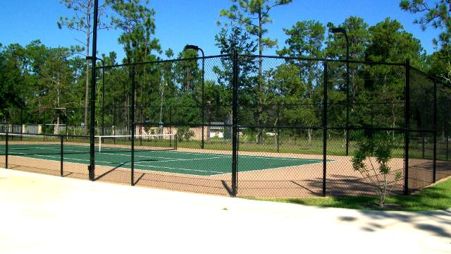 Riverwood Estates Theodore AL  Community Tennis Court