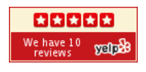 Meg Ross 5 Star Yelp reviews