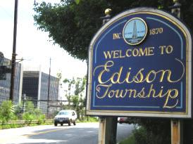 Welcome to Edison Township from route 27 - Your North Edison Realtor Team