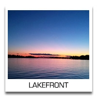 Search Lakefront Properties in