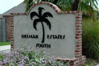 Delmar Estates Subdivision, Lafayette, LA