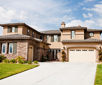 A nice house with a large driveway