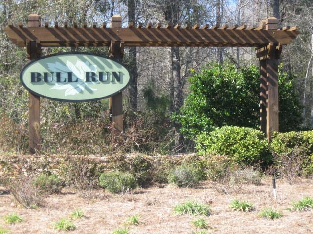 The Entrance of Bull Run - Click Here to see available homes
