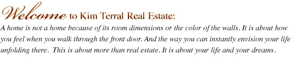 Welcome to Kim Terral Real Estate, Livingston, Texas