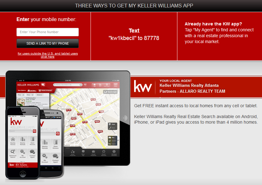 Allaro Realty Team - Mobile App