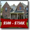 Forney Real Estate Search - Homes for sale in Forney priced between $500,000 and $750,000.