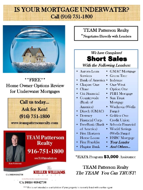 Granite Bay Short Sale Successful Agents