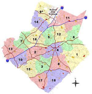 Gwinnett County Schools Cluster Map