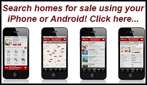 Search homes for sale on your mobile device