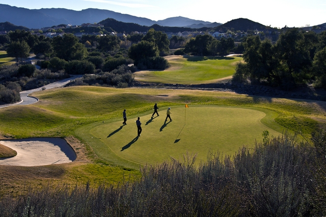 Robinson Ranch Golf Course in Sand Canyon