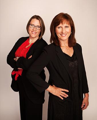 Julie Kinworthy and Carol Simenson