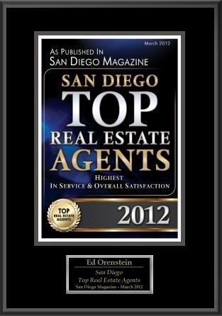 Ed Orenstein of Keller Williams Realty, Top Real Estate Agent in San Diego County -- Sabre Springs, Poway, Carmel Mountain Ranch, Rancho Bernardo