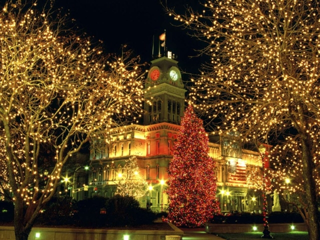 Louisville during the holidays