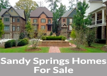 Search Sandy Springs homes for sale