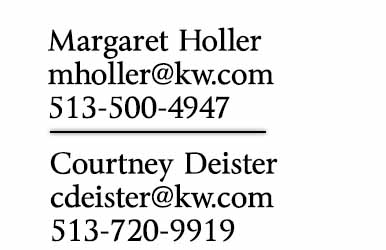 Contact Margaret Holler and Courtney Deister