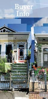 New Orleans Real Estate Buyer Information