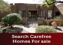Carefree AZ homes for sale