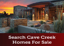 Search Cave Creek AZ homes for sale