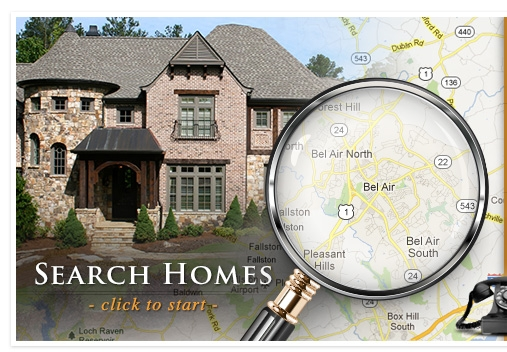 Search Homes - click to start