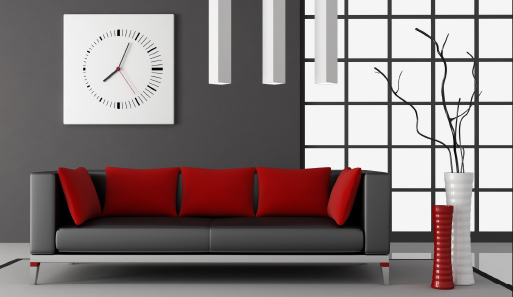 Wise Red Sofa