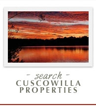 search cuscowilla properties