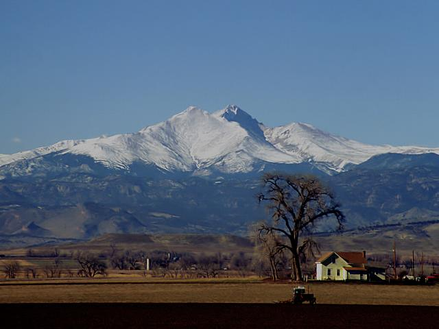 Longs Peak Photo