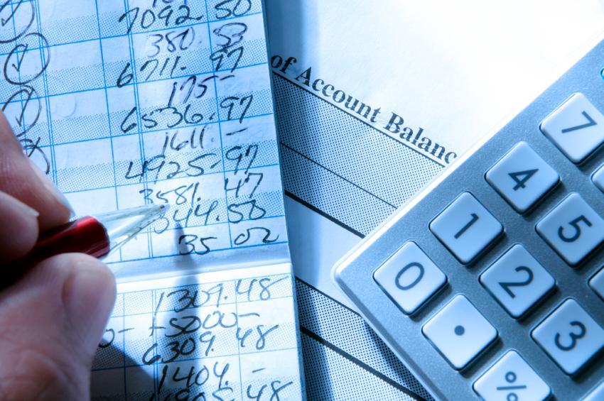 checkbook balance sheet. checkbook balance.
